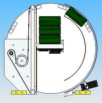 Modélisation barillet colonne'l dépose 3