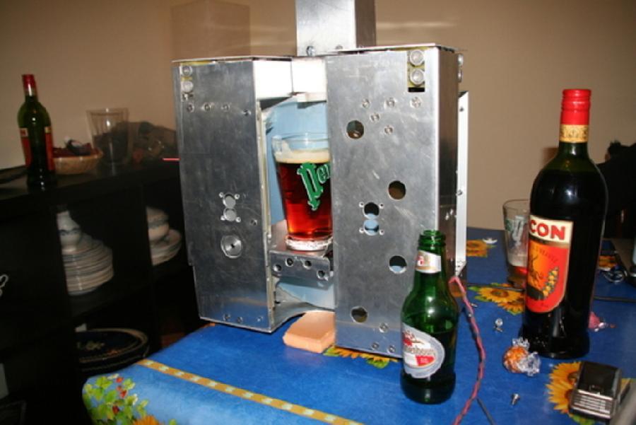 Fonctionnalité caché, robot barman
