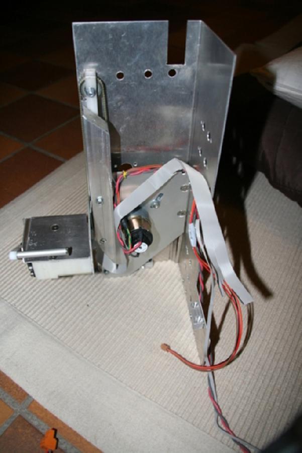 Mecanique de l'ascenseur du robot colonne'l