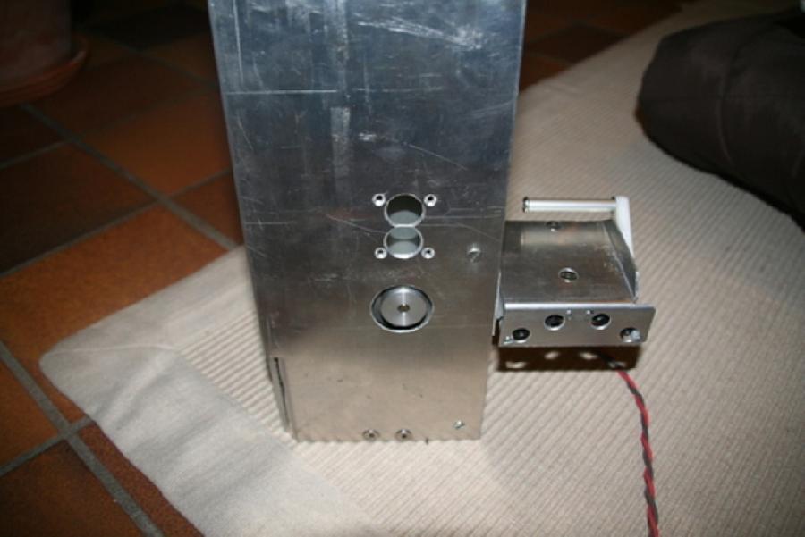 Mecanique de l'ascenseur du robot colonne'l suite