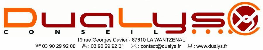 Logo de notre mecene dualys conseil