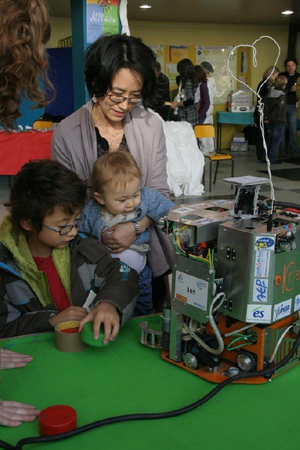 Presentation du robot de l'insa