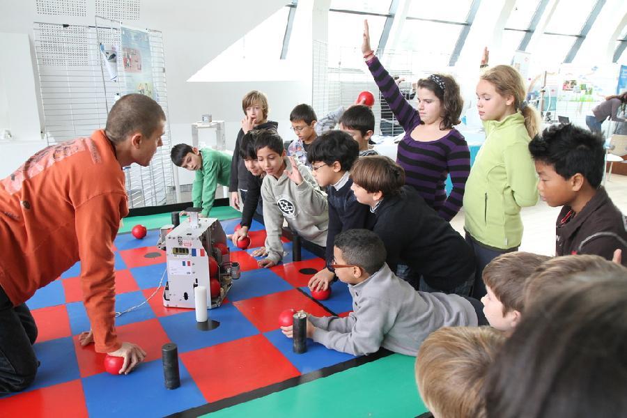 jeu interactif et explication