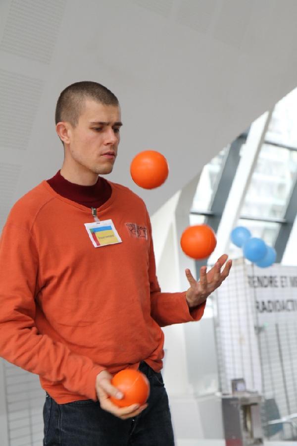 preuve par l'exemple des balles de jonglage