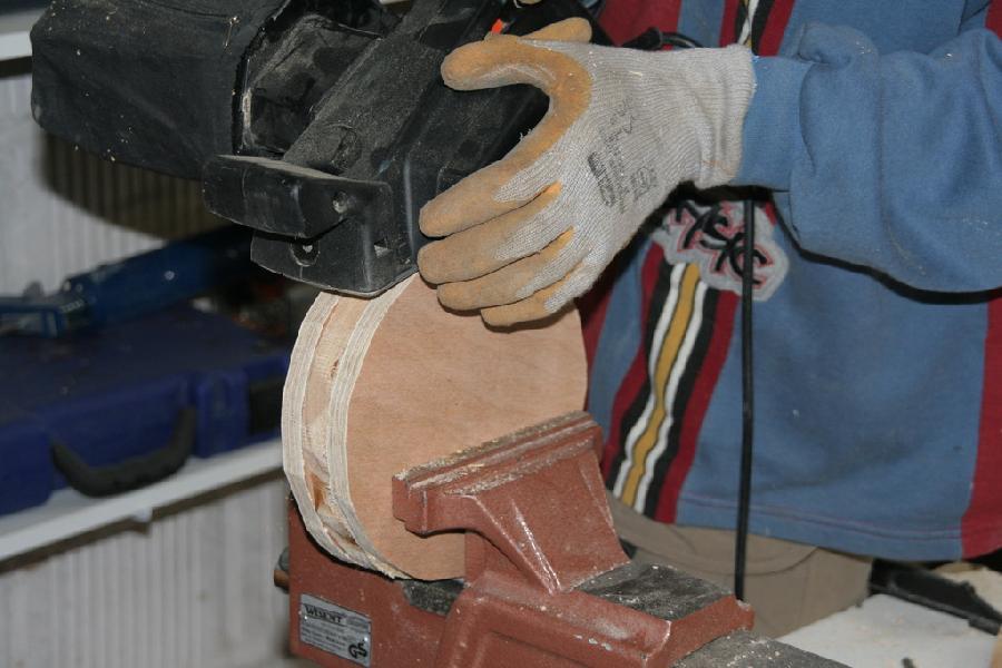 Ajustage et égalisation du palet de 5mm