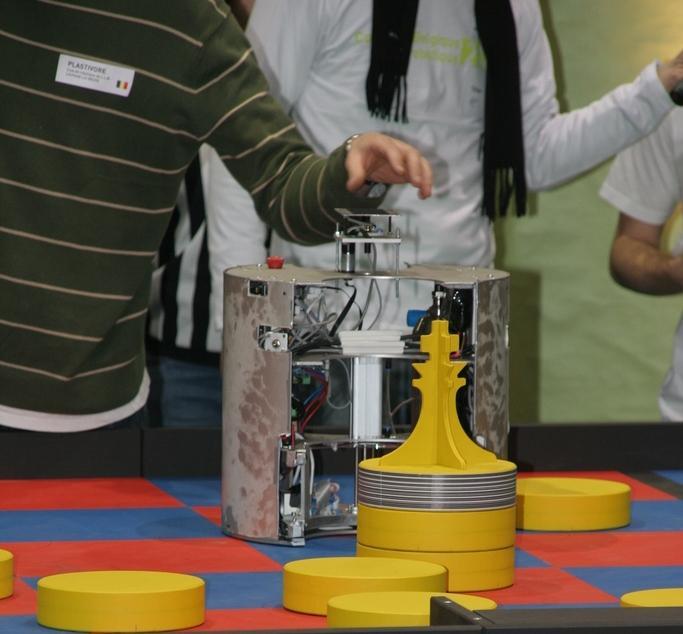 Robot Coupe de Belgique 2