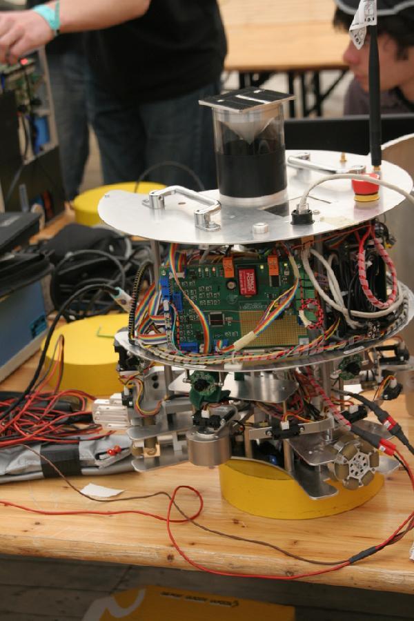Robot déshabillé