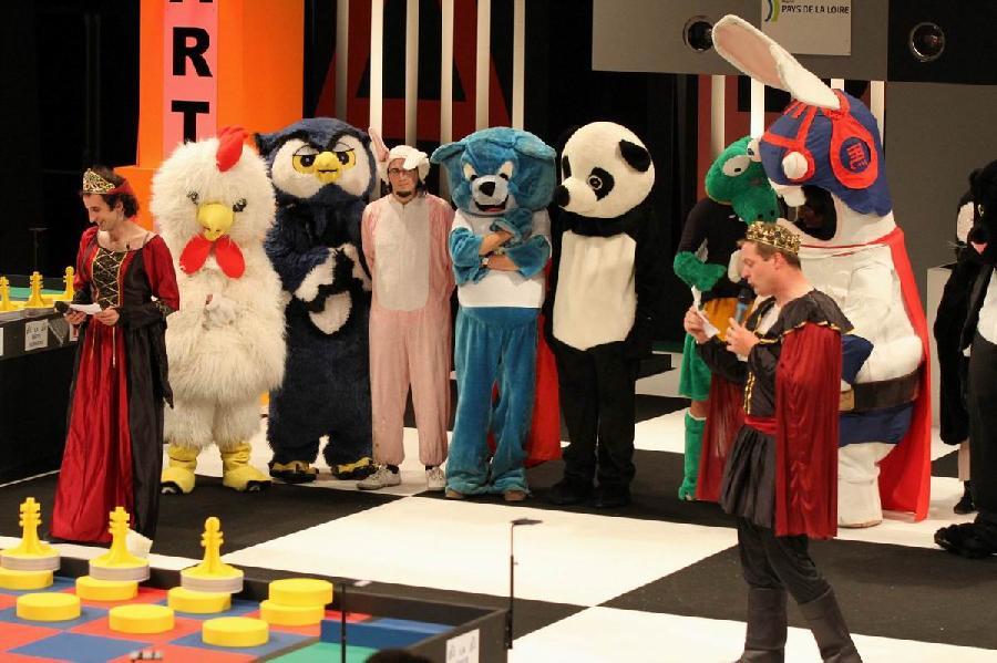 Les mascottes 2011