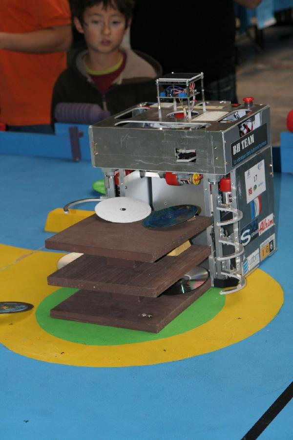 Robot principal bh team fdls 2012