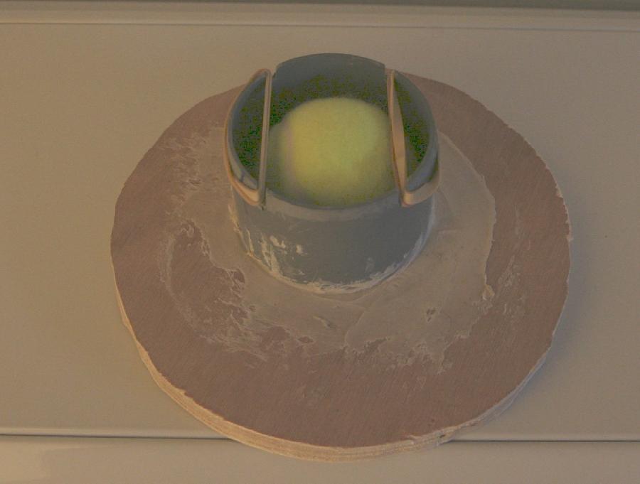prototype de bougie soufflé